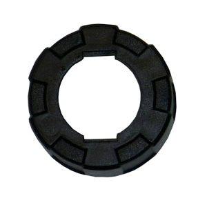 NEWBORN RING CAP BLACK PLASTIC TYPE #620-AL EACH